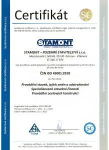 ČSN EN ISO 45001:2018